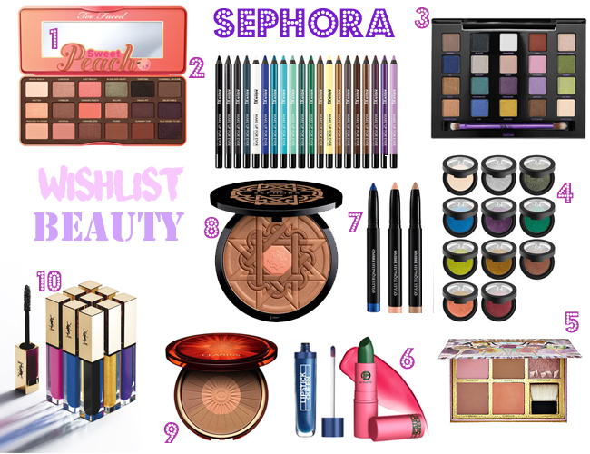 Wishlist Beauty de Sephora