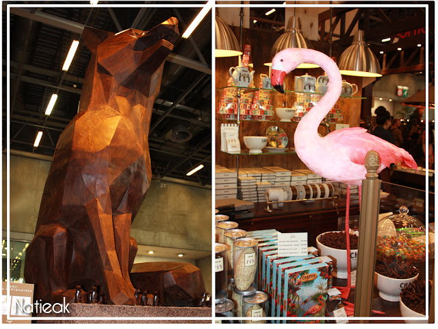 sculpture  en chocolat Paris