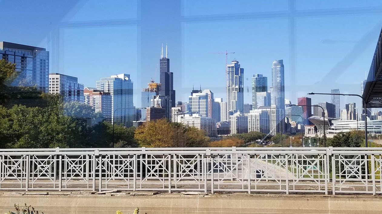 Chicago, view from McCormick Place