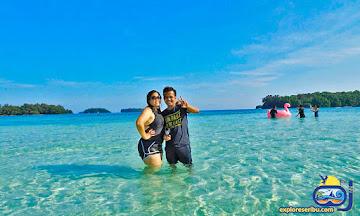 wisata pulau dolphin - pulau harapan