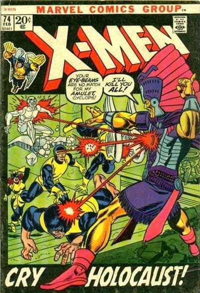 The Grooviest Covers of All Time: Gil Kane's Groovy X-Men