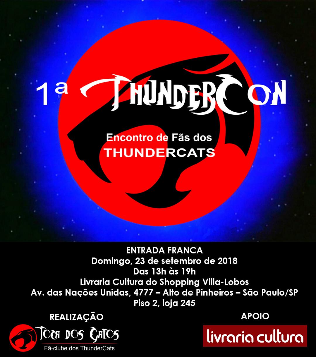 1ª ThunderCon  Encontro de Fãs dos ThunderCats ~ Revista Conexão ... e493d84cdbc64