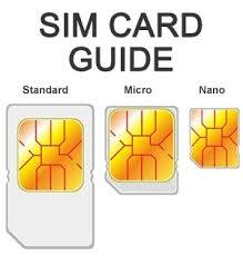 gunakan Simcard sesuai jenis handphone