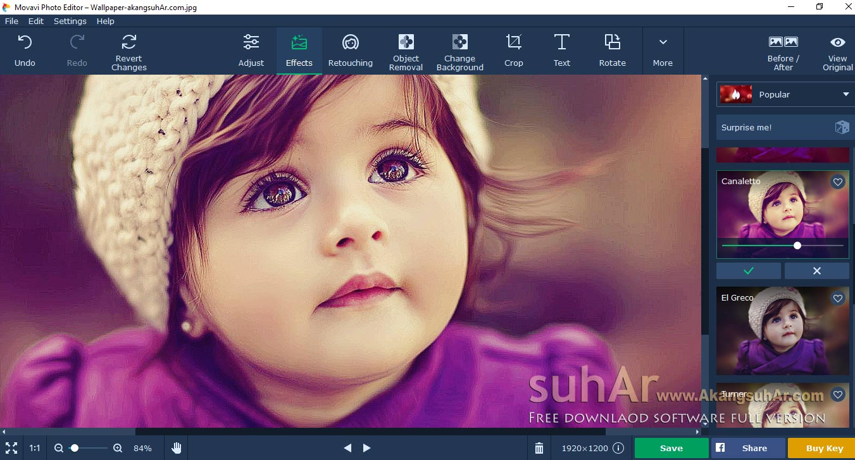 Gratis Download Movavi Photo Editor Terbaru