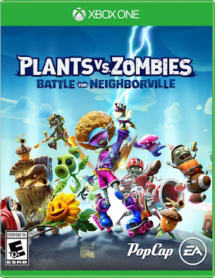 Plants Vs Zombies Battle For Neighborville Game Cover Xbox One