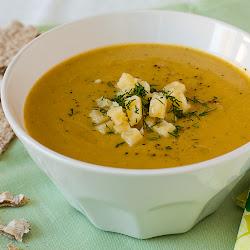 Krem supa od brokolija sa sirom