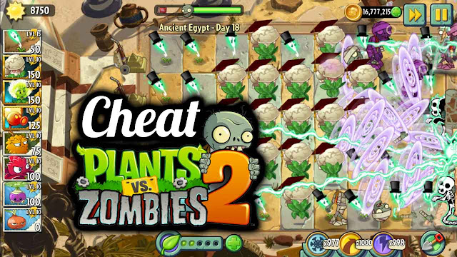 cheat plants vs zombie 2 mega mod no delay