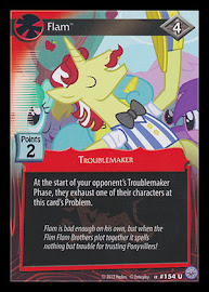 My Little Pony Flam Premiere CCG Card
