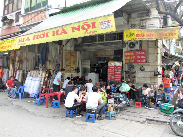 rice beer vietnamese food old quarter hanoi vietnam