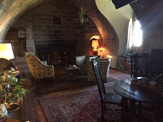 The Ship Room Lindisfarne Castle