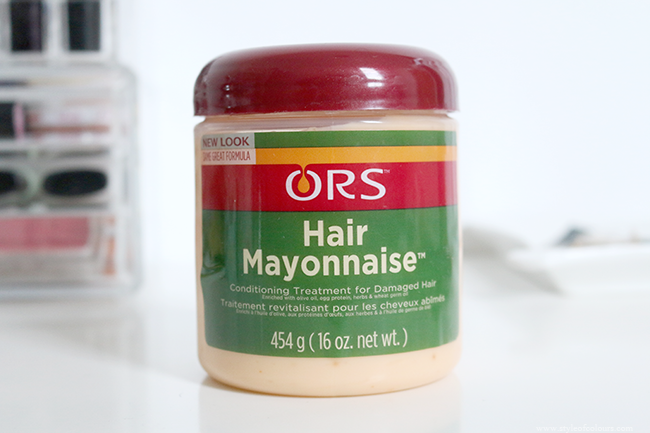 Review Ors Hair Mayonnaise