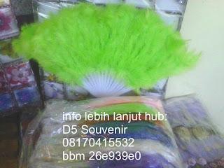 souvenir kipas, souvenir kipas bulu Souvenir Pernikahan, souvenir unik dan souvenir khas jogja