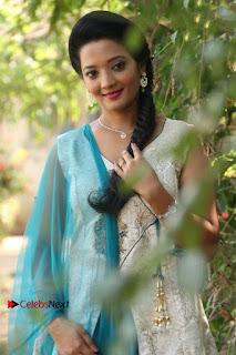 Tamil Actress Koushika Stills in White Salwar Kameez at Inayathalam Tamil Movie Audio Launch  0004.jpg