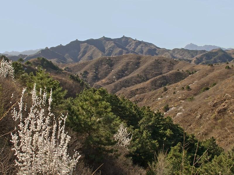 Point de vue sur la Grande Muraille depuis le village de Dongpo