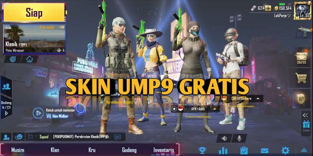 selalu memiliki hal baru sehingga membuat para pemainnya semakin betah bermain Cara Mendapatkan Skin Senjata UMP9 di PUBG Mobile
