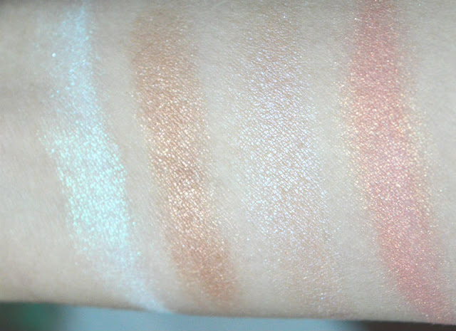 Brija Cosmetics Review Swatches