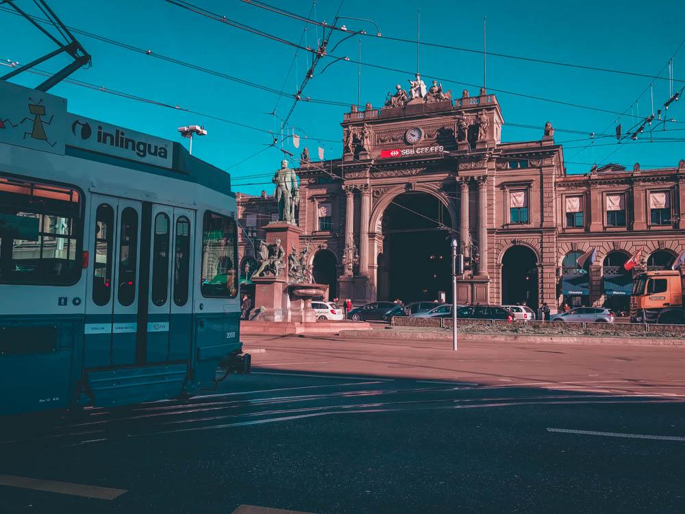 zurich - blog voyage - laquotidiennedele - gare centrale Hauptbahnhof