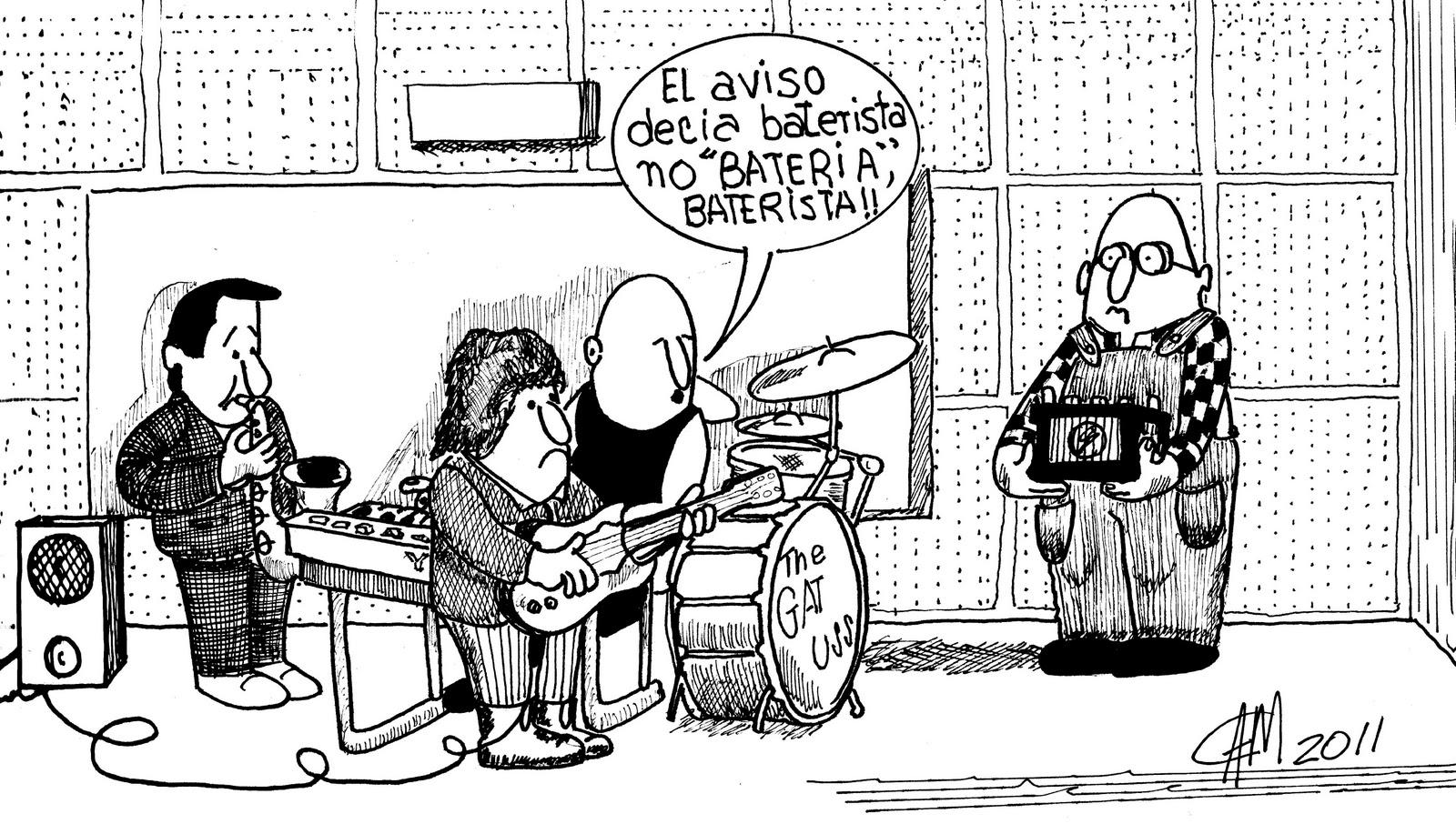 Cam Humor Grafico El Baterista