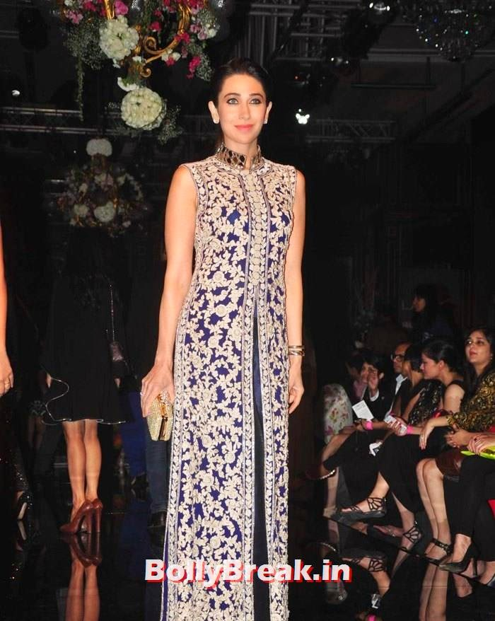 Karisma Kapoor, Pics of Manish Malhotra Show at Lakme Fashion Week 2014
