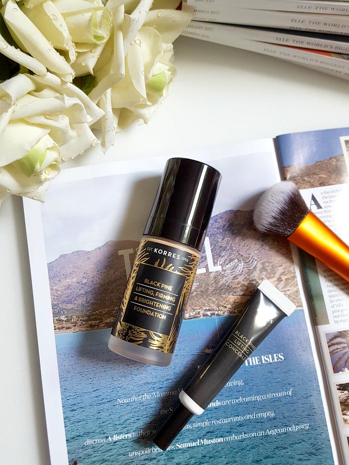 Review: KORRES Black Pine Colour - Concealer & Foundation - Madame Keke The Luxury Beauty & Lifestyle Blog