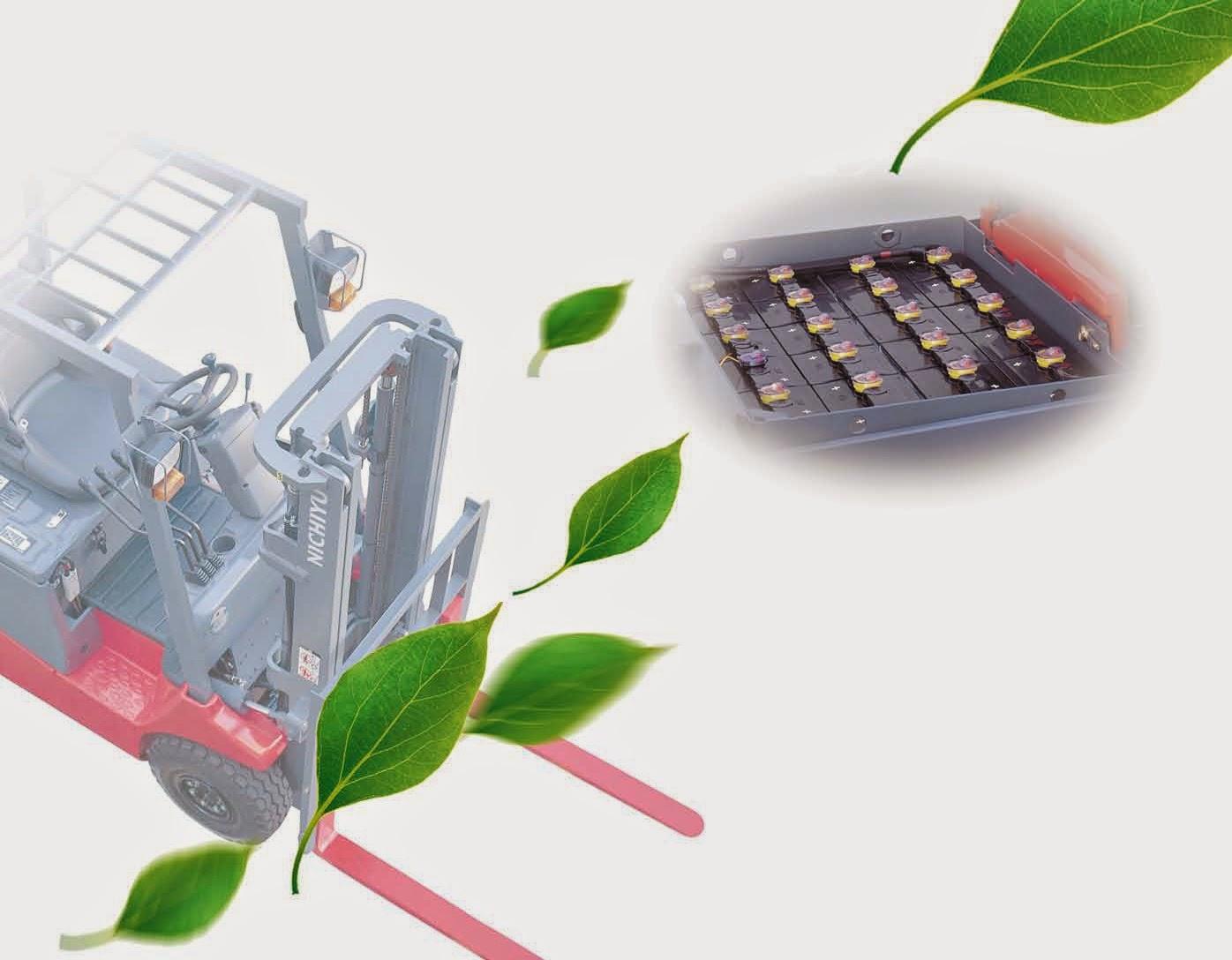 Nichiyu Battery Forklift 1.0-3.0 ton