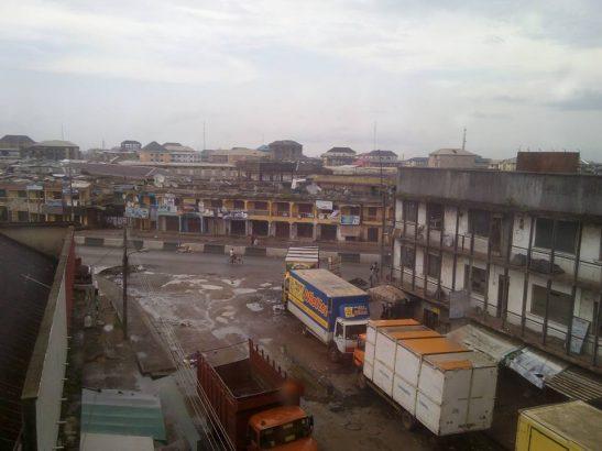 market in aba deserted