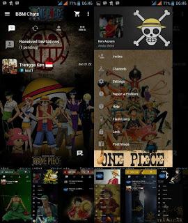 BBM MOD Monkey D. Luffy (ONE PIECE) Change Background Update Apk