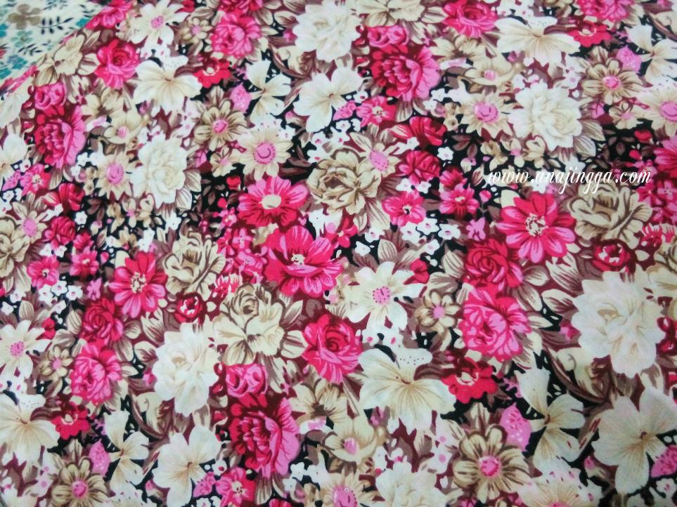 Corak Kain English Cotton Terkini Dan Cantik