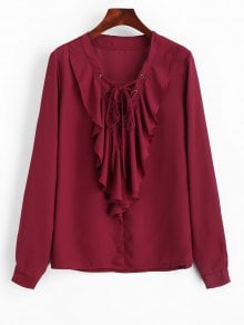 https://www.zaful.com/ruffles-chiffon-lace-up-blouse-p_477760.html?lkid=12600094