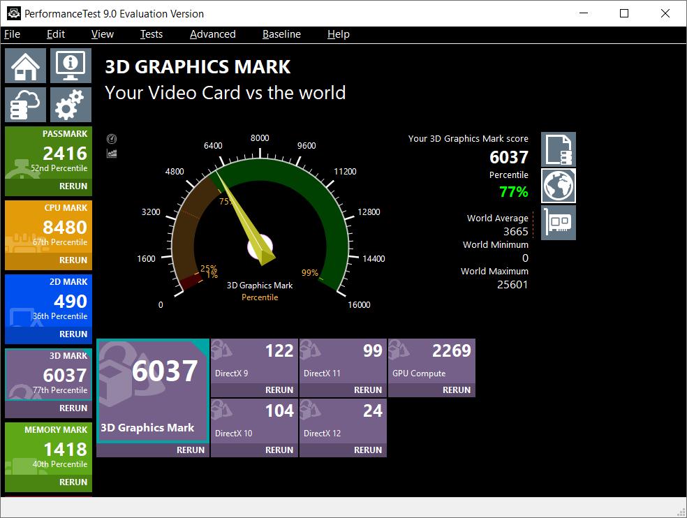 Uji Video Card 3D