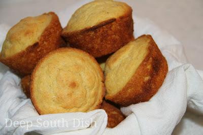 A basic recipe for buttermilk corn muffins.