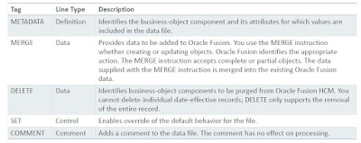 hdl6 - Basics of HCM Data Loader in Fusion