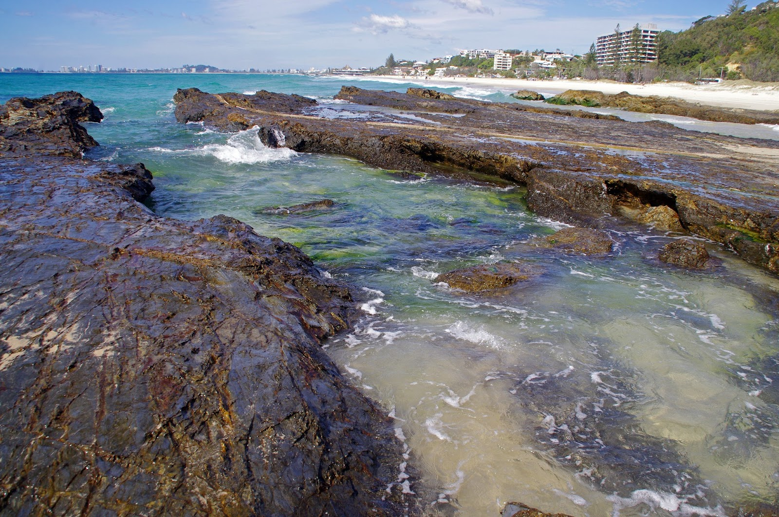 Currumbin Beach Rockpools Gold Coast