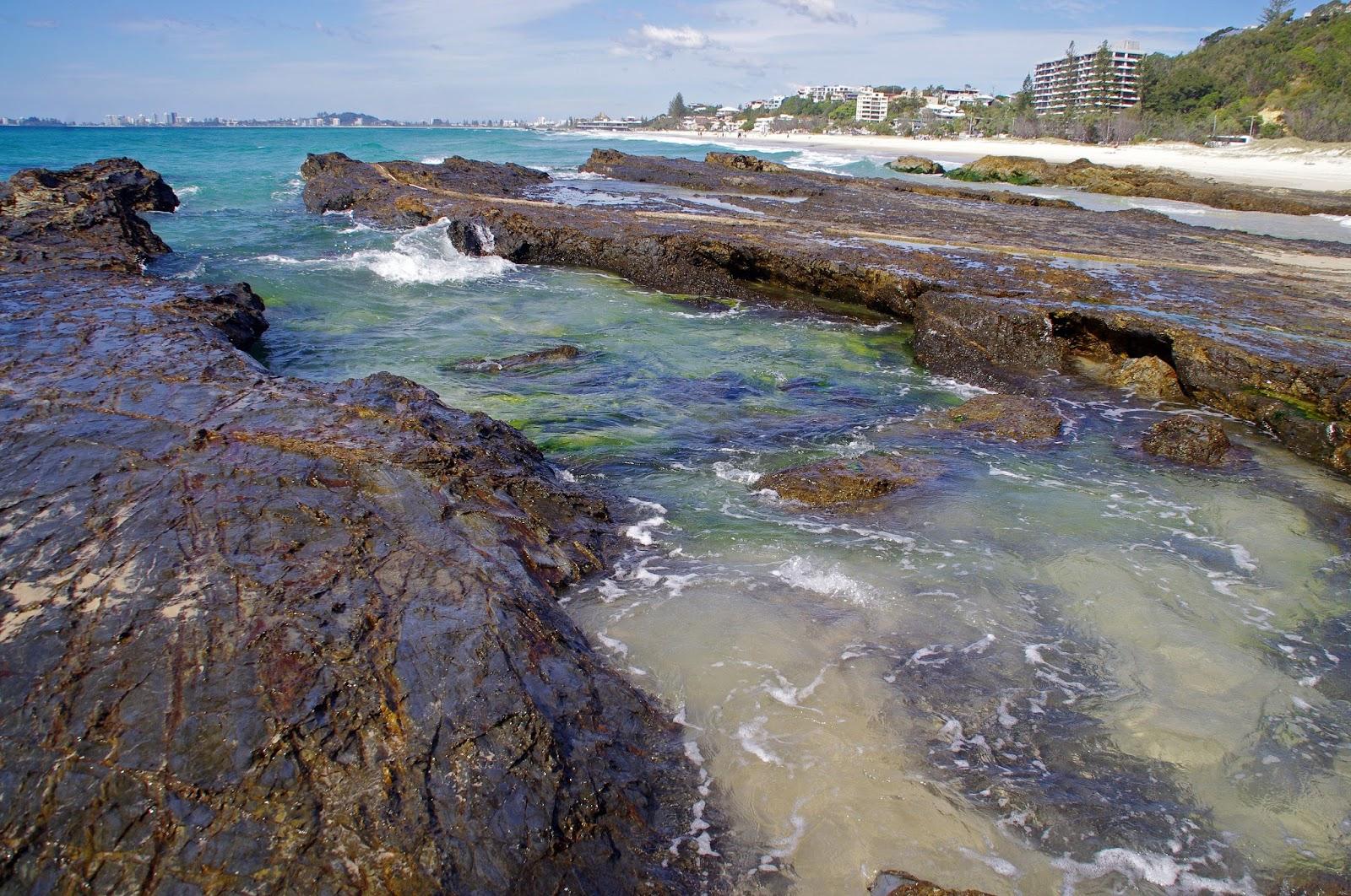 Currumbin Beach Rockpools Gold Coast