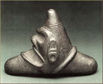 Uno de los cemis, dioses extraterrestres de los tainos