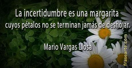 Citas famosas de Mario Vargas Llosa
