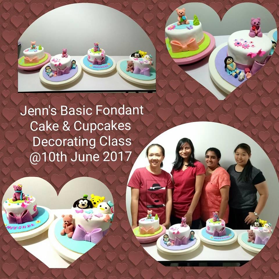 Jenn Cupcakes & Muffins: Jenn s Basic Fondant Cake & Decorating Class