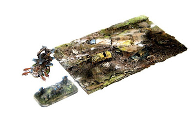 1 x 150mm Long Crash Site Terrain Piece picture 3