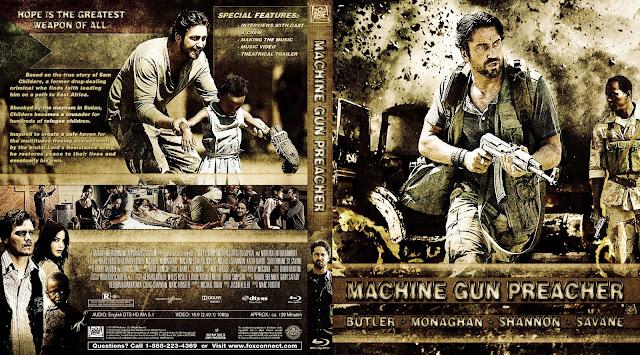 Capa Bluray Machine Gun Preacher