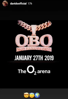 Davido set to shut down London's O2 Arena, the Busiest Concert Venue in the World!