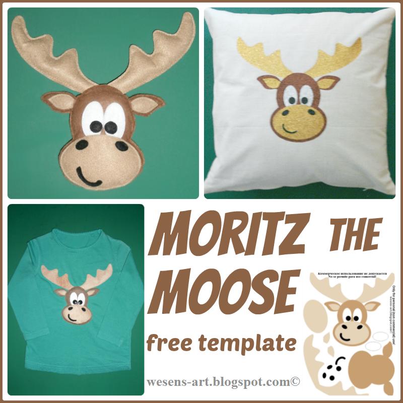 Wesens-Art: Moritz the moose / Moritz der Elch