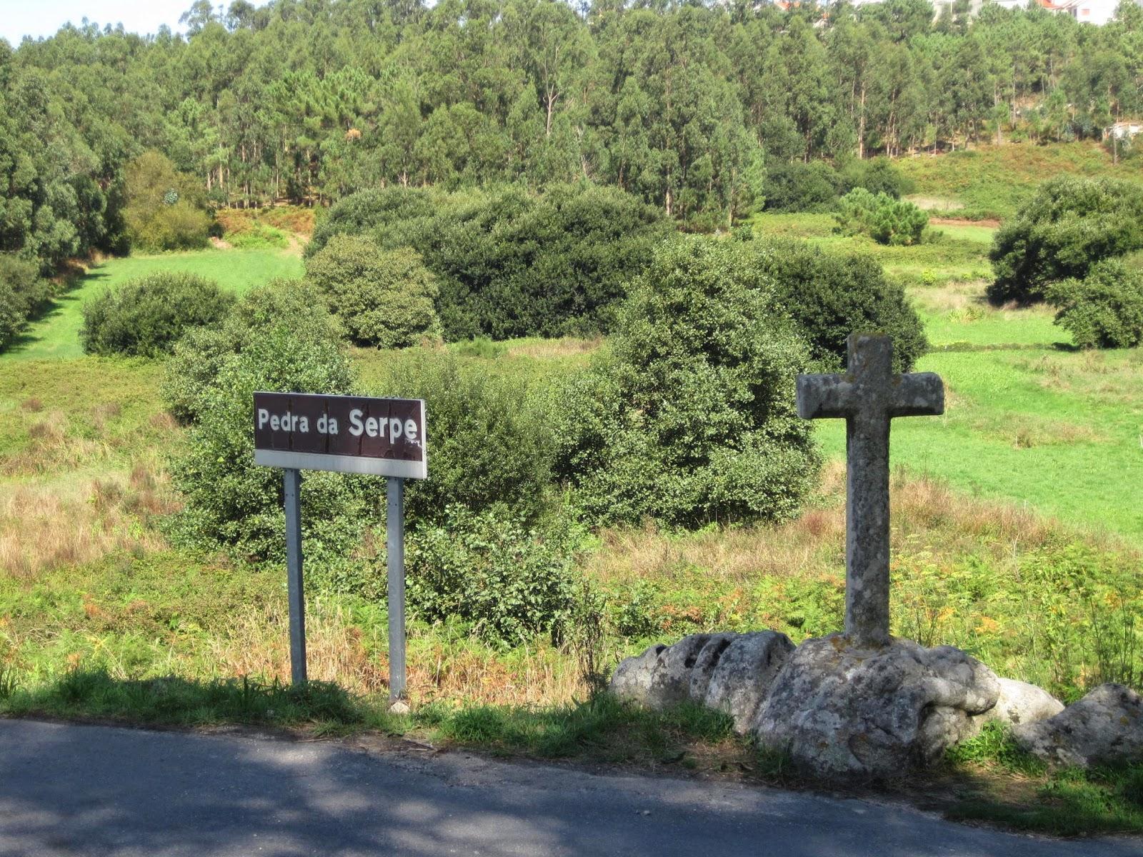 Pedra da Serpe en Corme Ponteceso