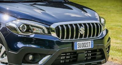 Suzuki S-Cross Facelift-front-profile-picture