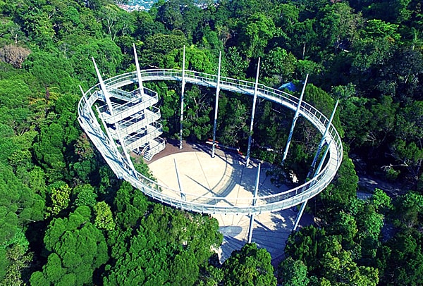 Penang Hill Curtis Crest Canopy Walk
