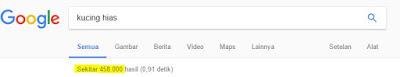 kompetitor menurut indeks google
