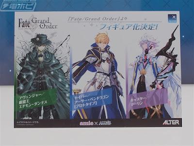 Fate/Grand Order – Edmond Dantès/Avenger, Arthur Pendragon/Saber & Merlin ALTAiR
