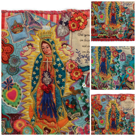 Guadalupe Collage Quilt