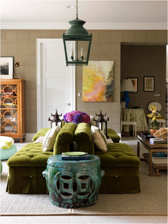 exotic house interior designs blue and green living rooms. Black Bedroom Furniture Sets. Home Design Ideas