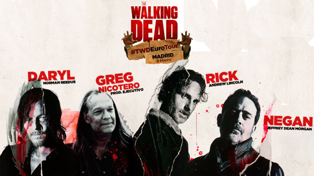 The Walking Dead Eurotour Madrid