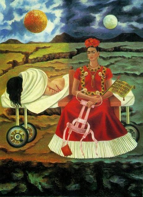 Árvore da Esperança Permanece Firme - Frida Kahlo e suas pinturas ~ Pintora comunista e revolucionária
